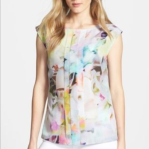 Ted Baker London Watercolor Pleat Front Tank